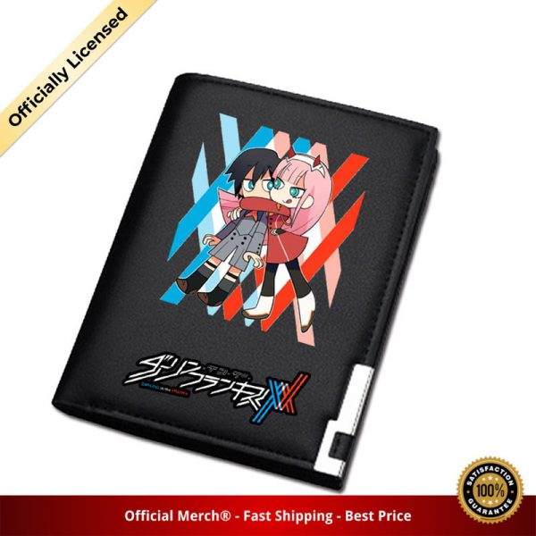 DARLING in the FRANXX Women Long Coin Purse Pu Leather Short Wallet ZERO TWO ID Card 5 - DARLING in the FRANXX Merch
