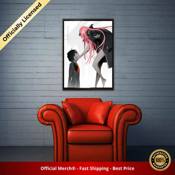 Darling In The Franxx Sexy Anime Figures Silk Prints Modern Painting Posters Wall Art Pictures For 3 - DARLING in the FRANXX Merch