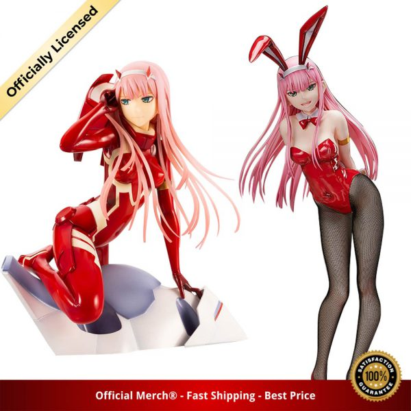 Darling in the FRANXX Figure Zero Two 02 red clothes Sexy girls Anime PVC Action Figures 2 - DARLING in the FRANXX Merch