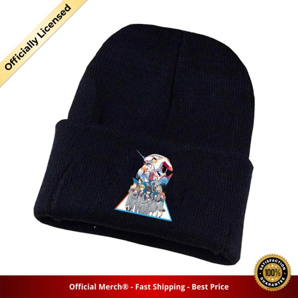 Game DARLING in the FRANXX Knitted hat Cosplay hat Unisex Print Adult Casual Cotton hat teenagers 3 - DARLING in the FRANXX Merch