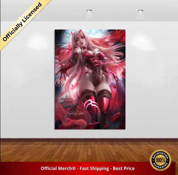 Home Decor Canvas DARLING In The FRANXX 02 1 Piece Anime Sexy Girl Art Poster Prints 1 - DARLING in the FRANXX Merch