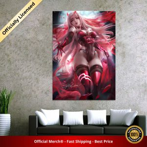 Home Decor Canvas DARLING In The FRANXX 02 1 Piece Anime Sexy Girl Art Poster Prints - DARLING in the FRANXX Merch