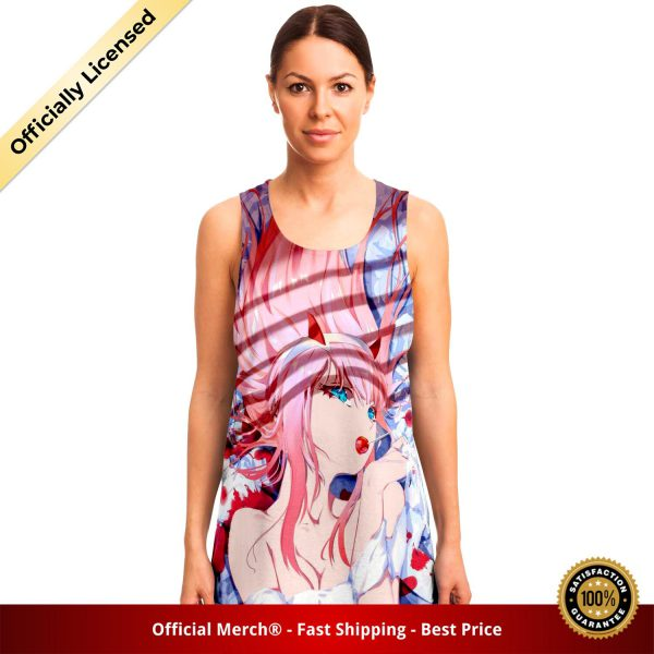 5b07d6e944ae7d9d0b1cd53c707243f3 tankTop female front - DARLING in the FRANXX Merch