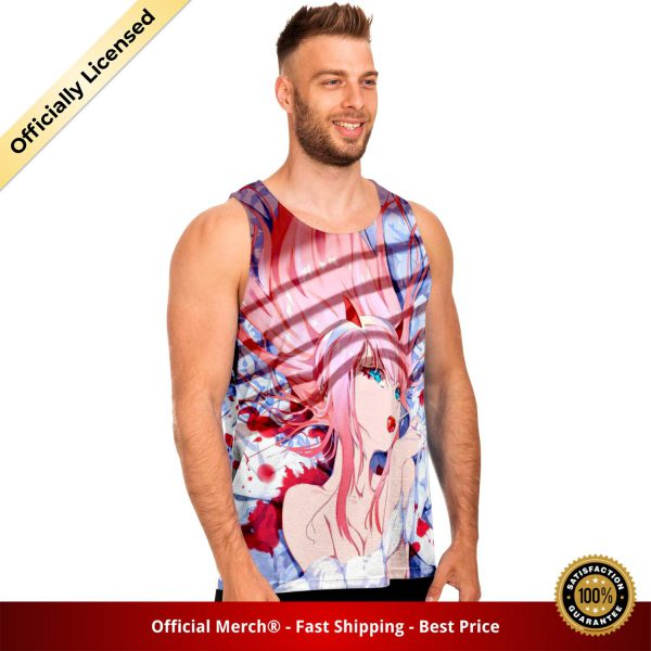 75a4263589cc1b630b33ca4a31dc3502 tankTop male left - DARLING in the FRANXX Merch