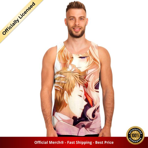 9833c2c9c9fe052aee38390dbbb8e514 tankTop male front - DARLING in the FRANXX Merch